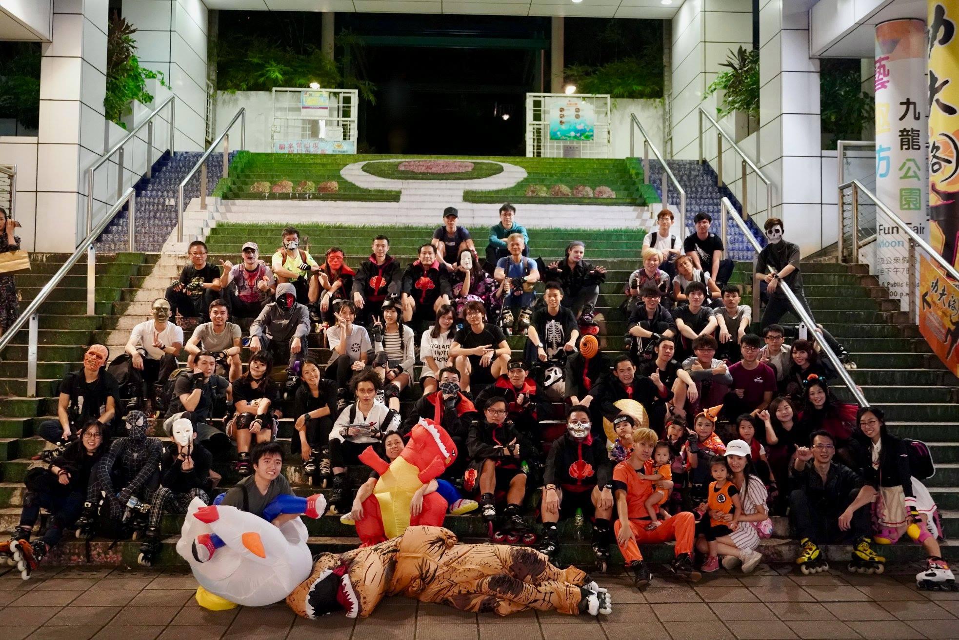 Halloween猛鬼溜街團2018 @ Let Skate HK